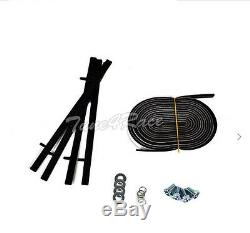 For 10-13 Chevrolet Camaro Rear Trunk ZL1 Style Wing Lip Spoiler With Wicker Bill