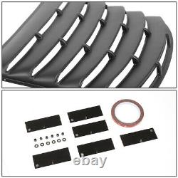 For 10-15 Chevy Camaro Coupe Glossy Rear Window Louver Windshield Shade Cover
