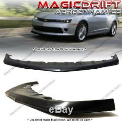 For 14-15 Chevy Camaro V6 LT RS OE GFX Style Front Lip Chin Splitter Valance
