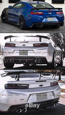For 16-2020 Chevy Camaro LT RS SS Shark Fin Rear Bumper Diffuser Replacement PP