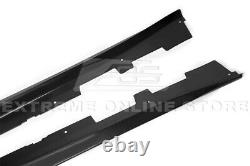 For 16-Up Camaro RS & SS ZL1 Style PLASTIC BLACK Side Skirts Panel Extension
