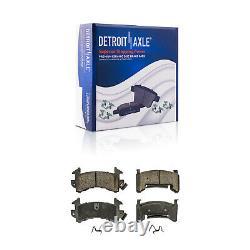 Front Brake Rotors + Brake Pads Camaro Monte Carlo Rotor S10 Brakes kit