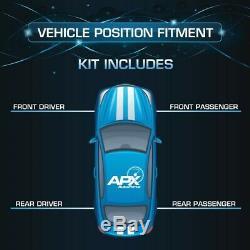 Front Rear Left Right Shocks Struts for 93-02 Chevrolet Camaro