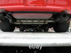 GMMG Chambered Stainless Exhaust System with Round Tips New