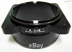 Gm Chevy Billet Aluminum Ls1 Lt4 Lt1 Mass Air High Flow Ported Maf Ends Black