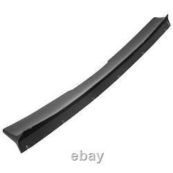 HECASA For 10-13 Chevrolet Camaro Duckbill Type Trunk Spoiler Wing Black