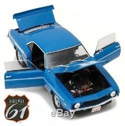 Highway 61 18001 118 Brian's 1969 Chevrolet Camaro Yenko Blue Fast & Furious