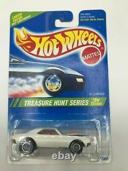 Hot Wheels 1995 Treasure Hunt 67 Camaro (Holly Grail) Of Treasure Hunts MIBP HTF