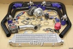 JDM Upgrade Stage3 Universal T3/T4 T04E Hybrid Turbo Kit Turbo Starter Kit 350HP