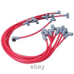 MSD Spark Plug Wire Set 35599 Super Conductor 8.5mm Red for Chevy 262-400 SBC