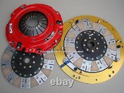 McLEOD RXT TWIN DISC CLUTCH 1000-HP 97-15 GM LS ENGINE T56 6-SPEED