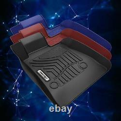 OEDRO Floor Mats Liners Fit for 2016-2021 Chevrolet Camaro Unique TPE F&R