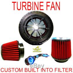 Performance Electric Air Intake Supercharger Fan Motor Kit Fit For Chevy