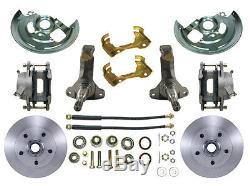 Pontiac / Oldsmobile A-Body Power Disc Brake Conversion Kit, Cutlass, GTO, F-85