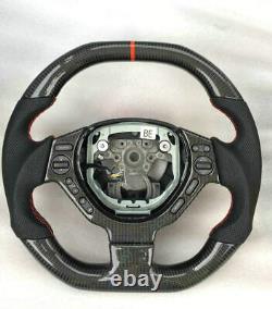 Processing Of Carbon Steering Wheel For Chevrolet Camaro Corvette Cruze