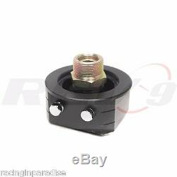 REV9 UNIVERSAL19 ROW OIL COOLER BAR & PLATE CORE With OIL FILTER RELOCATION KIT