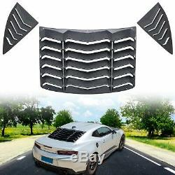 Rear and Side Quarter Window Louvers Sun Shade for 2010-2015 Chevrolet Camaro