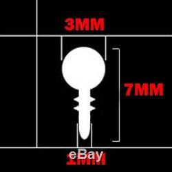 Red 5M Car Interior Door Gap Edge Line Insert Molding Trim Strip Deco Accessory