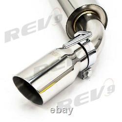 Rev9 Chevrolet Camaro 10-15 V6, Axle Back FlowMaxx Exhaust Kit, Sport Muffler