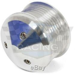 SBC Serpentine Pulley Conversion Kit Air Conditioning 350 400 Chevy Small Block