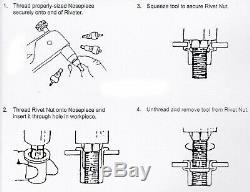 Satin Black Decklid Wing Wickerbill + Rivnut Tool Fit 10-13 Camaro ZL1 Spoiler