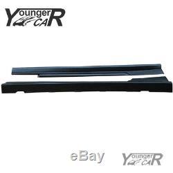 Side Skirts for 10-15 Chevy Chevrolet Camaro ZL1 Style Door Rocker Panels Lip
