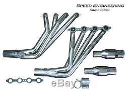 Speed Engineering 2010-2015 Camaro Longtube Headers 1 7/8 LS3 L99 ZL1 6.2L