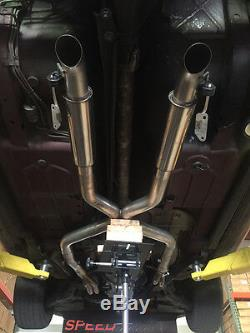 Speed Engineering LS1 LS6 Camaro Firebird True Dual Exhaust (Axle Dump)