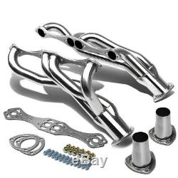 Stainless Steel Clipster Header Manifold/exhaust For Sbc Chevy V8 A/f/g Body Rod