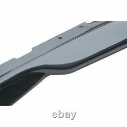 T6 Style Side Skirt Rocker Panel Extension For 16-20 Camaro SS & RS LT LS Black