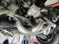 T76 Turbo Manifold Header Downpipe Kit For 98-02 Chevrolet Camaro LS1 Motor NA-T
