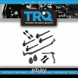 TRQ Front Tie Rod Center Link Adjuster Steering Kit for 82-92 Firebird Camaro