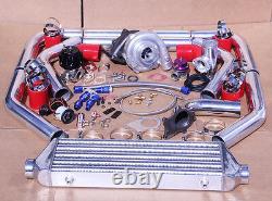Toyota Universal 7psi Upgrade T3/t4 Turbo Turbocharger Kit Ar. 57 Stage 3 350hp