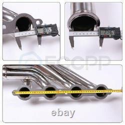 Turbo Manifold Exhaust Header For 97-14 Chevy Small Block V8 Ls1/ls2/ls3/ls6 Lsx