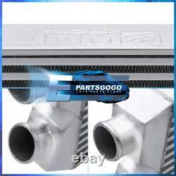 Universal 27.5X11X2.75 Tube Fin Front Mount Fmic Same Side Intercooler Turbo