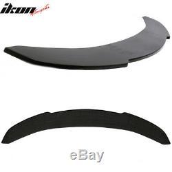 Universal V1 Style 65x16 Inch Front Bumper Lip Polyurethane (PU)