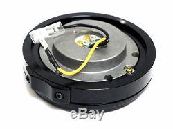 Universal Vms Racing Thin Short Slim Steering Wheel Quick Release Black Hub Kit