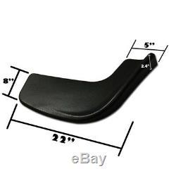 Universal Winglet Front Bumper Corner Lip Splitter Canard Diffuser Side Skirt P1