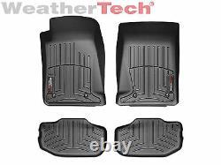 WeatherTech FloorLiner Mats for Chevrolet Camaro 2010-2015 Black