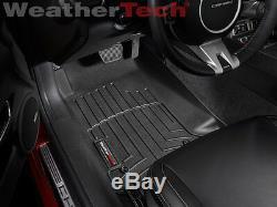 WeatherTech FloorLiner Mats for Chevy Camaro 2010-2015 Black