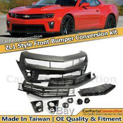 ZL1 Conversion Front Bumper 2010-2015 Chevolet Camaro LS LT SS / 14-15 ZL1 ONLY